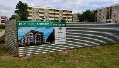 Rozpoczęto prace związane z ogrodzeniem terenu budowy