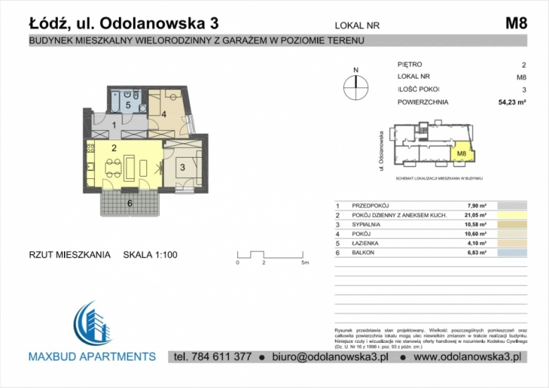 Mieszkanie nr. 8