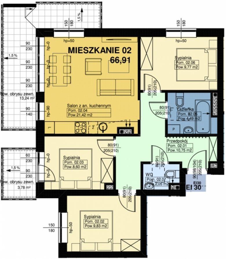 Mieszkanie nr. 2