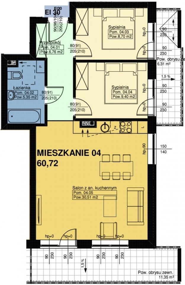 Mieszkanie nr. 4