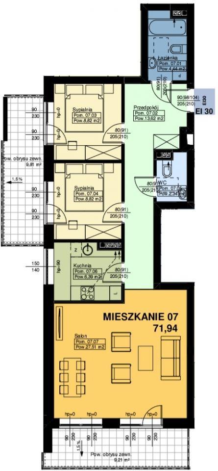 Mieszkanie nr. 7