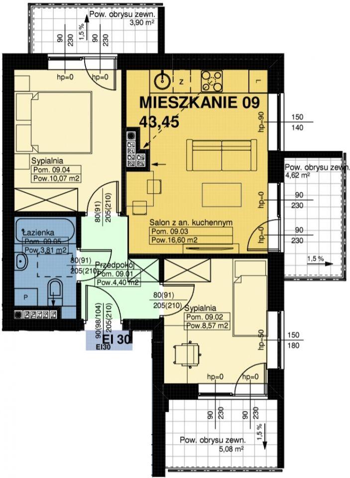 Mieszkanie nr. 9
