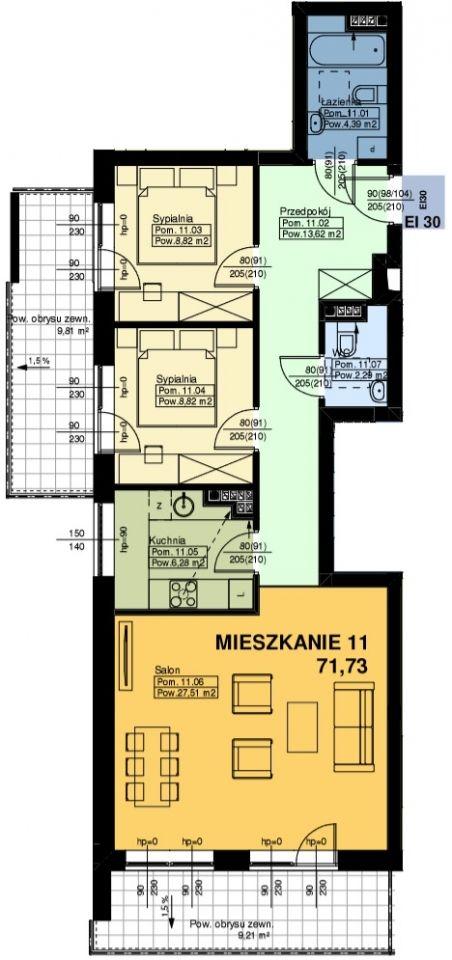 Mieszkanie nr. 11