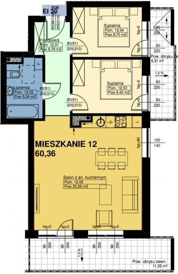 Mieszkanie nr. 12