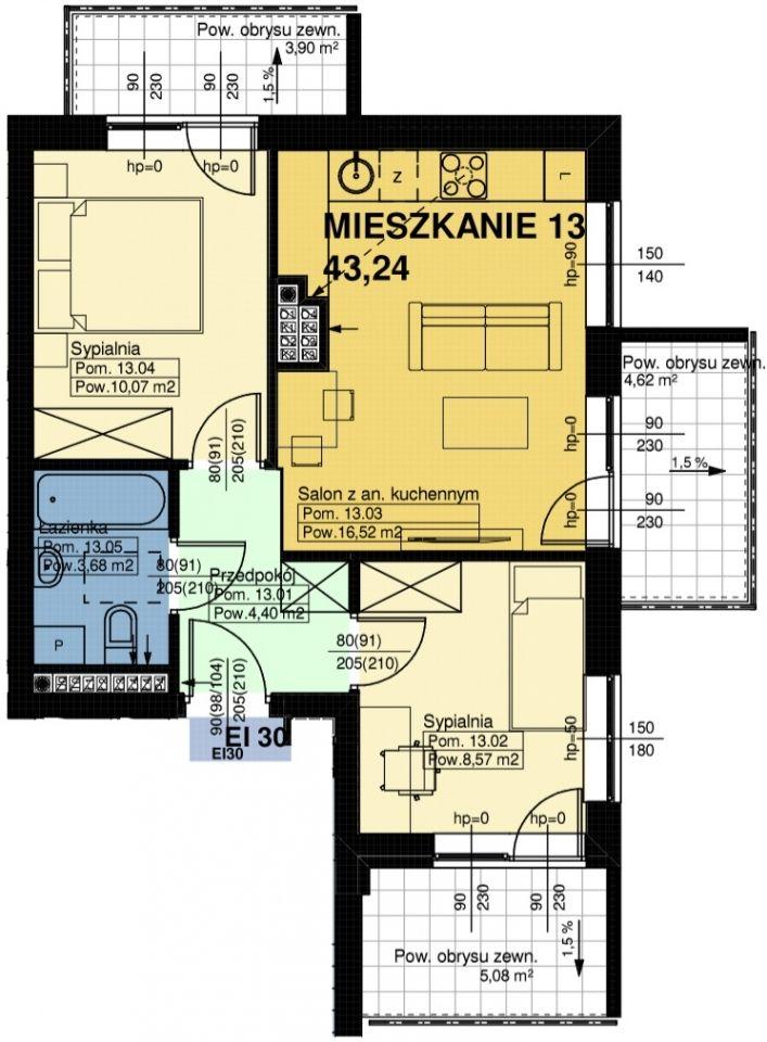 Mieszkanie nr. 13
