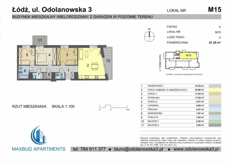Mieszkanie nr. 15