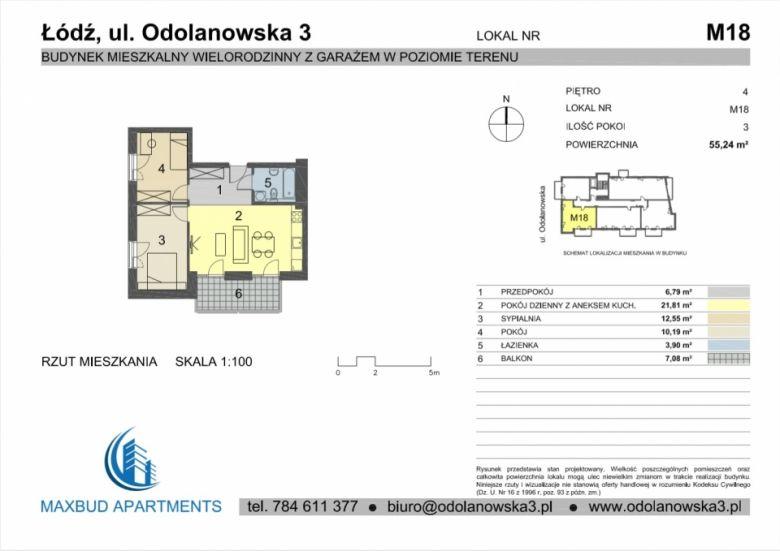 Mieszkanie nr. 18