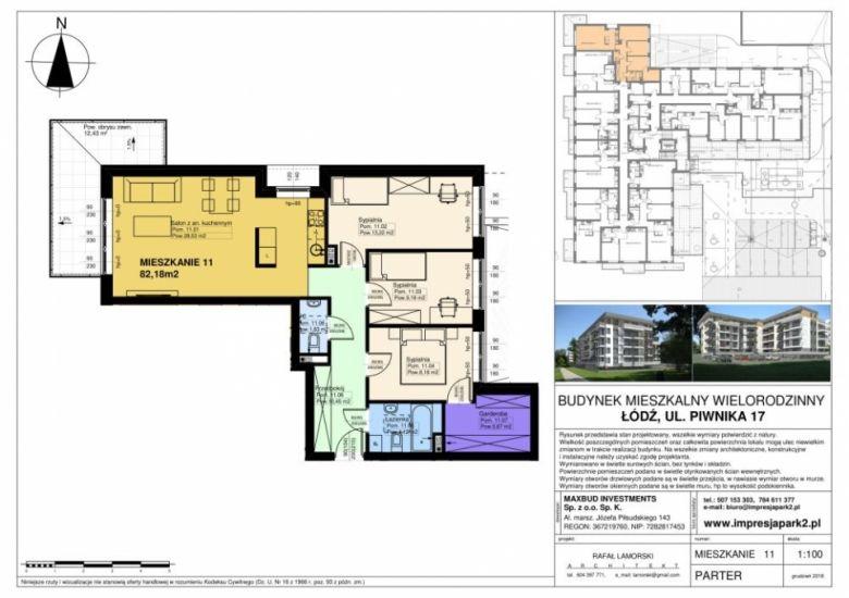 Mieszkanie nr. M11