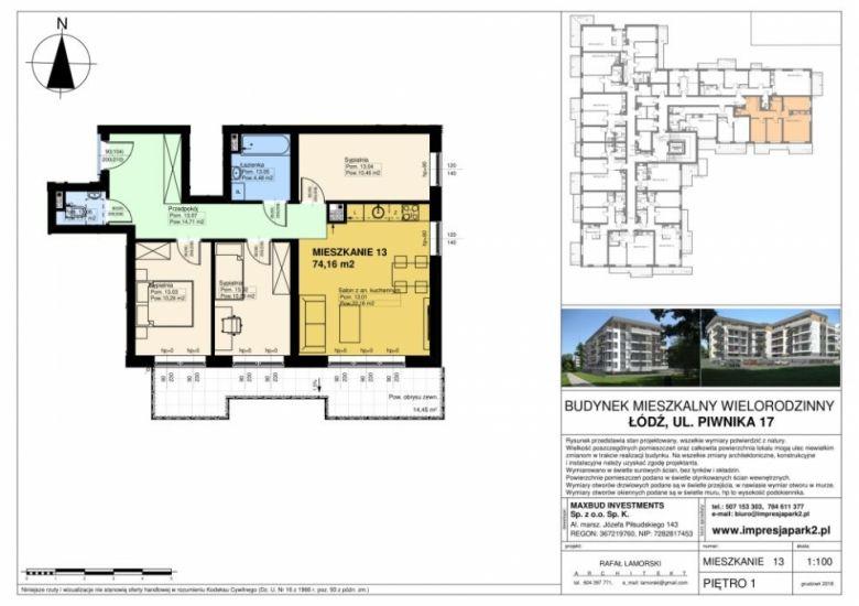 Mieszkanie nr. M13