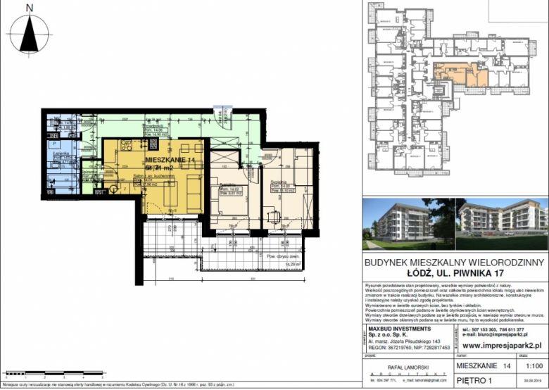 Mieszkanie nr. M14