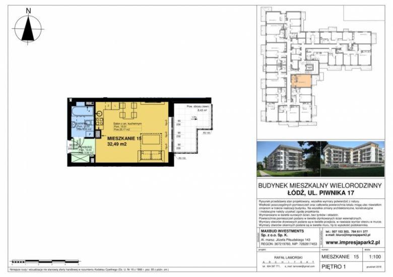 Mieszkanie nr. M15