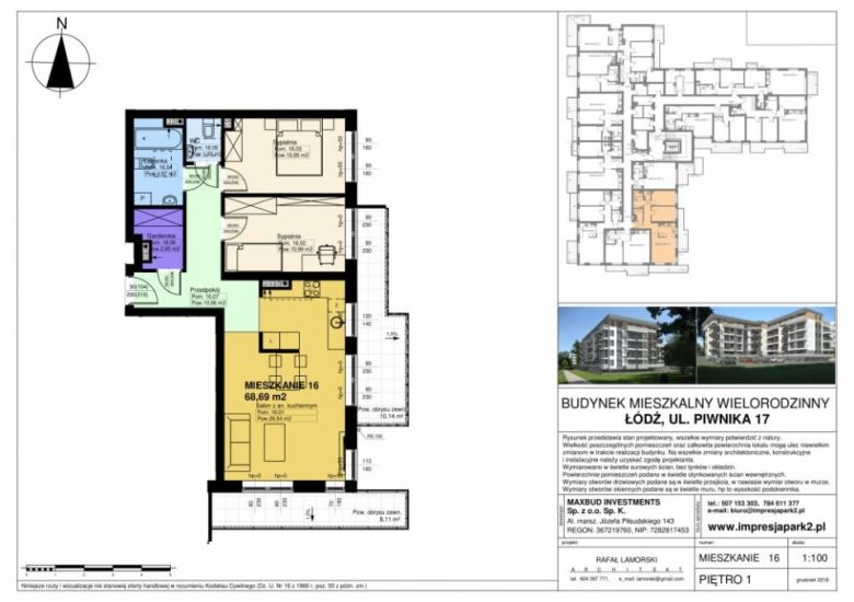 Mieszkanie nr. M16
