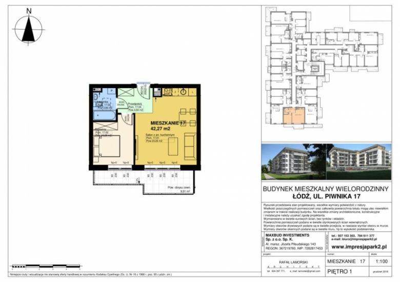Mieszkanie nr. M17