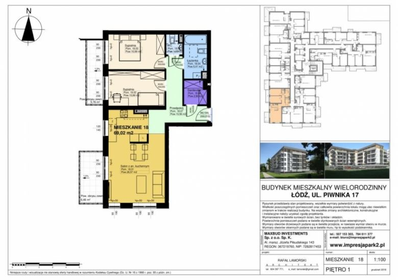 Mieszkanie nr. M18