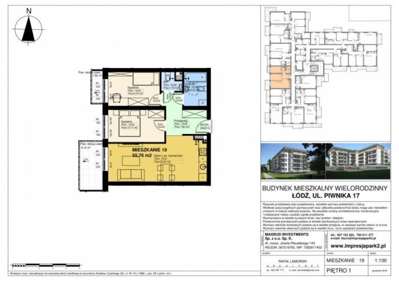 Mieszkanie nr. M19