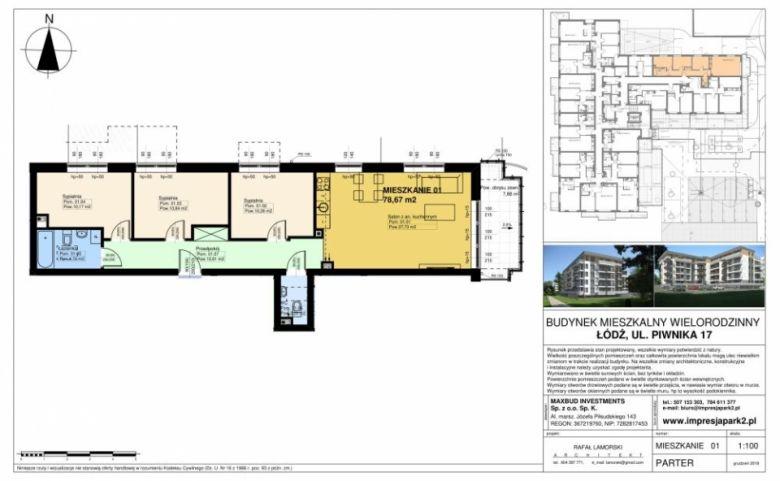 Mieszkanie nr. M01