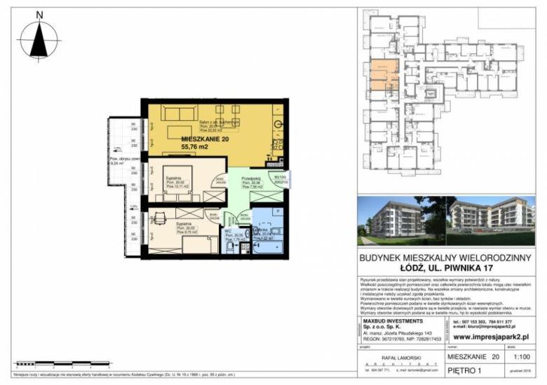 Mieszkanie nr. M20