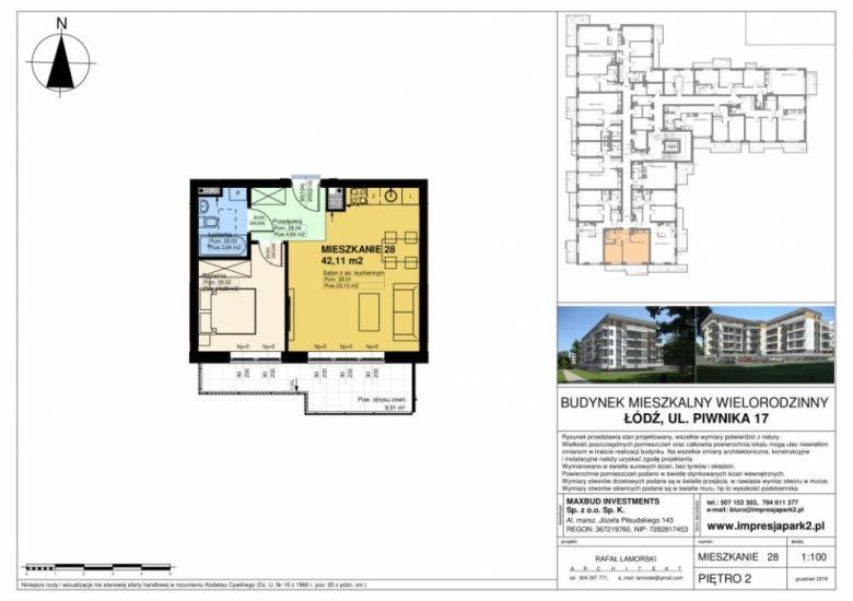 Mieszkanie nr. M28