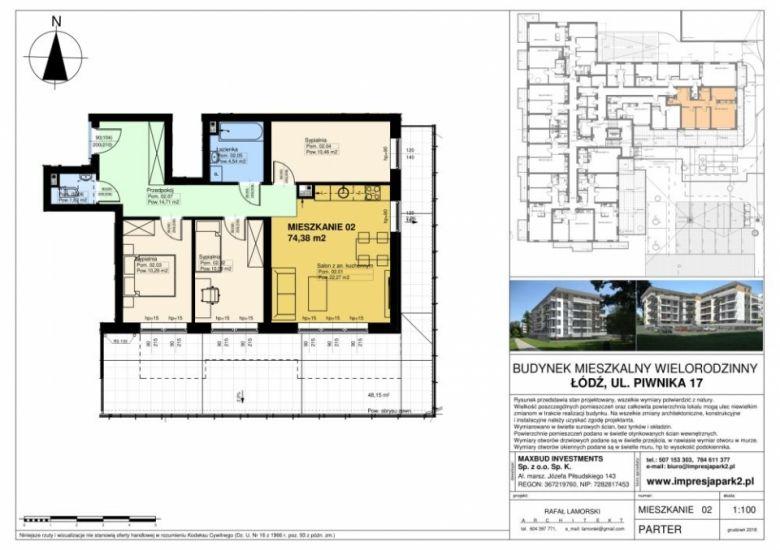 Mieszkanie nr. M02
