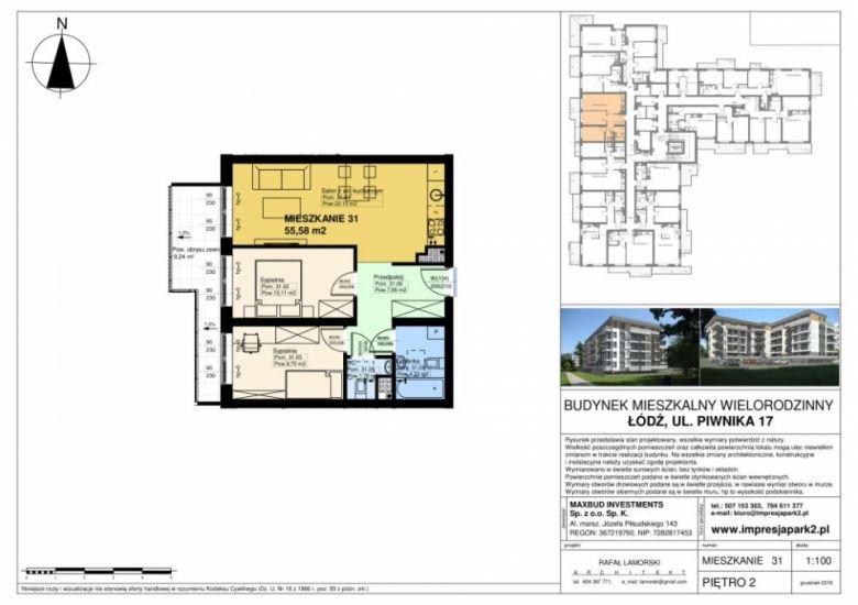 Mieszkanie nr. M31