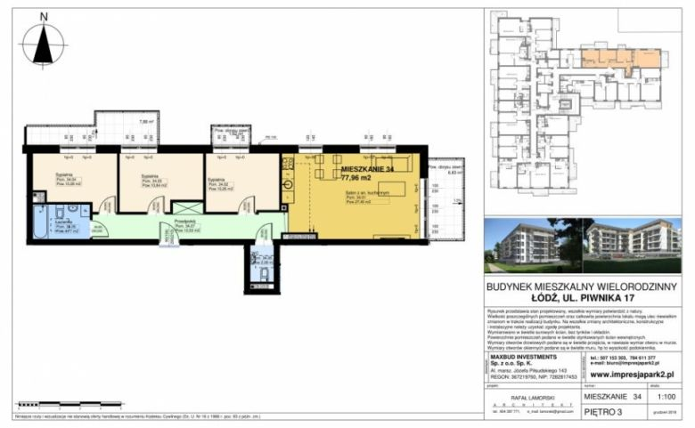 Mieszkanie nr. M34