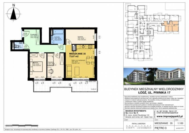 Mieszkanie nr. M35