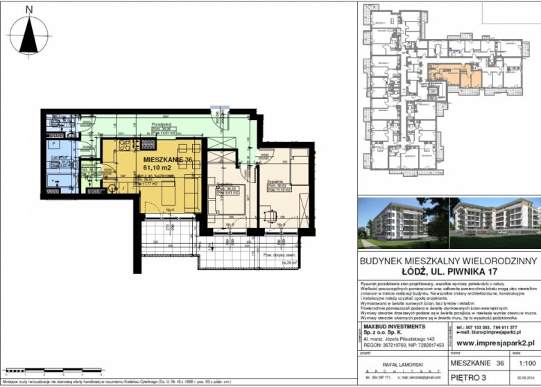 Mieszkanie nr. M36