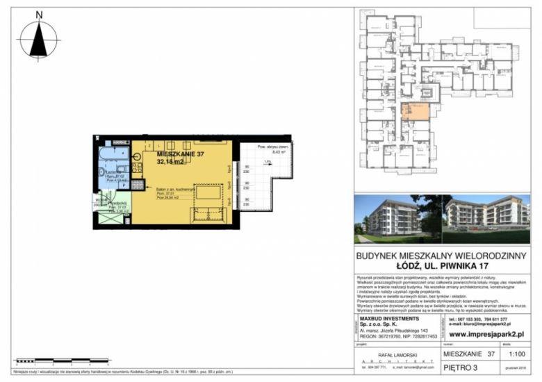 Mieszkanie nr. M37
