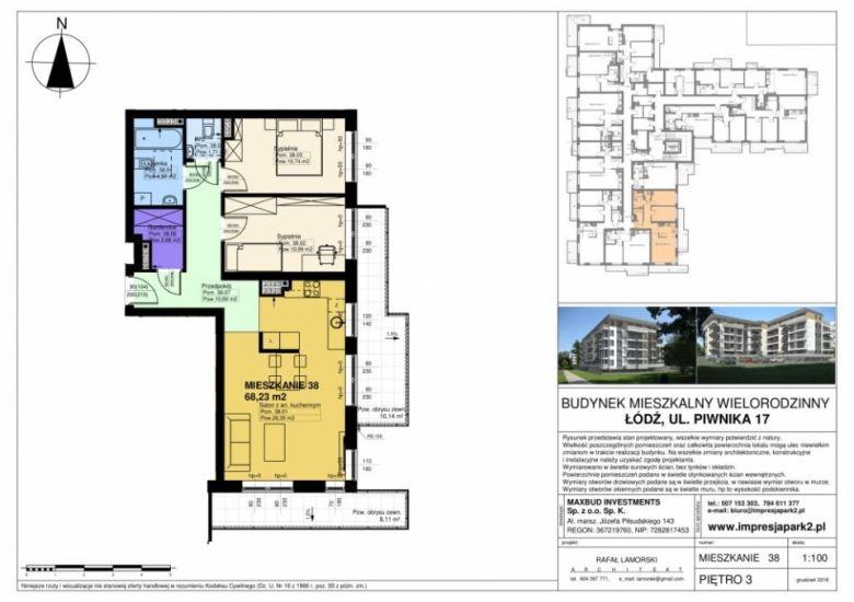 Mieszkanie nr. M38