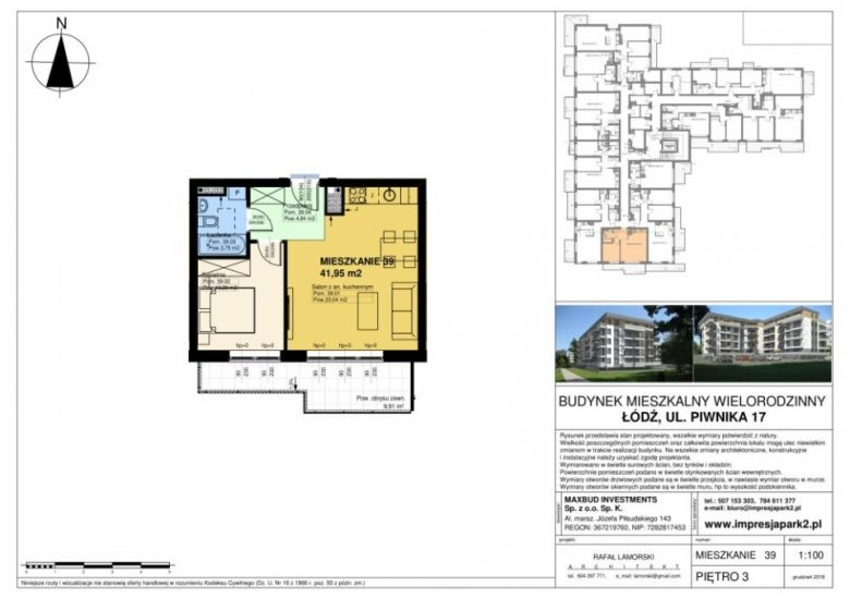 Mieszkanie nr. M39