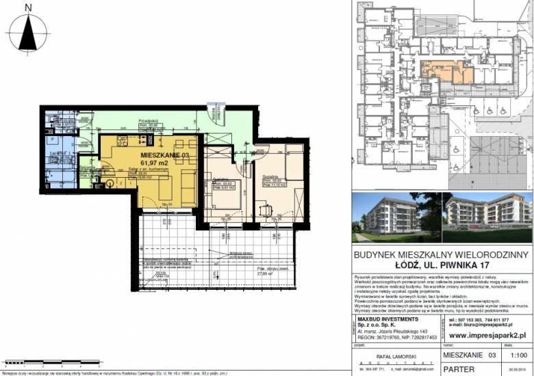Mieszkanie nr. M03