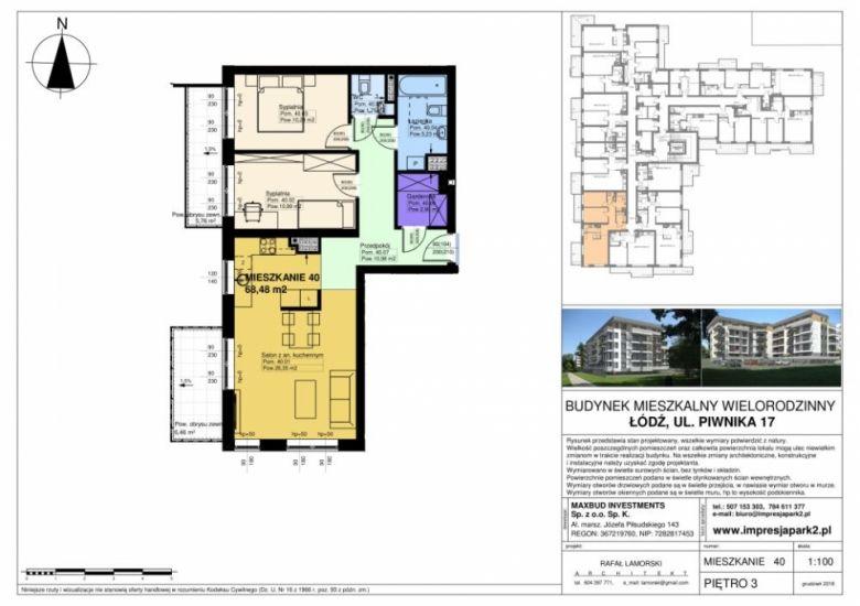 Mieszkanie nr. M40