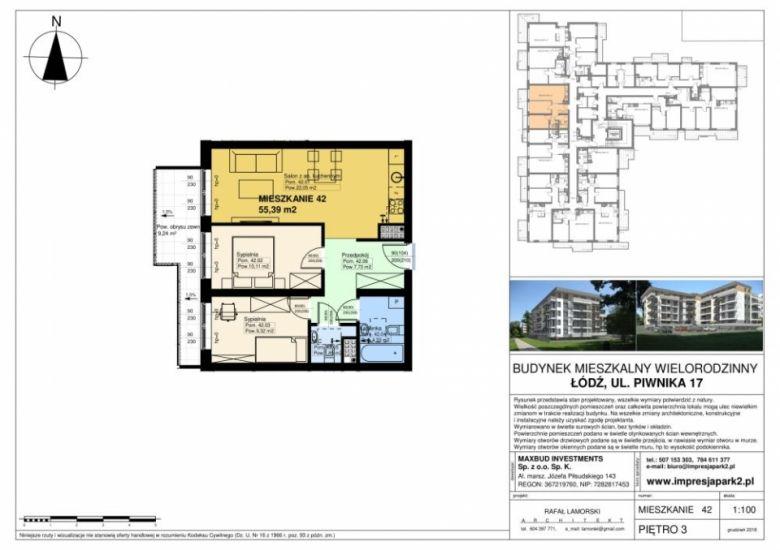 Mieszkanie nr. M42