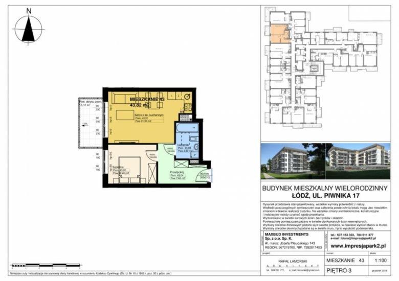 Mieszkanie nr. M43