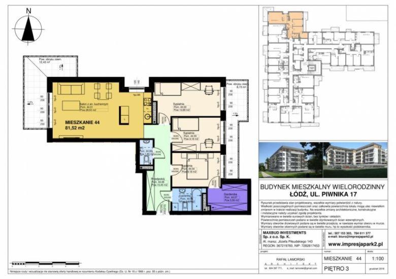Mieszkanie nr. M44