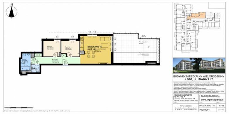 Mieszkanie nr. M45