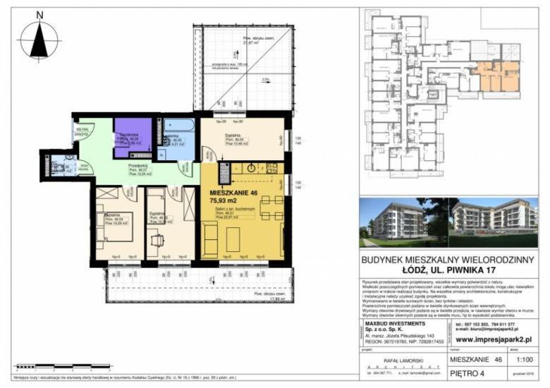 Mieszkanie nr. M46