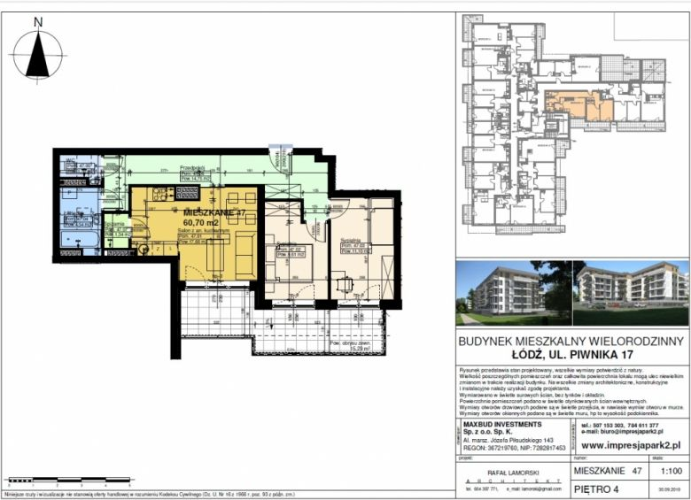 Mieszkanie nr. M47