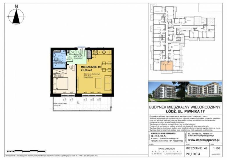 Mieszkanie nr. M49