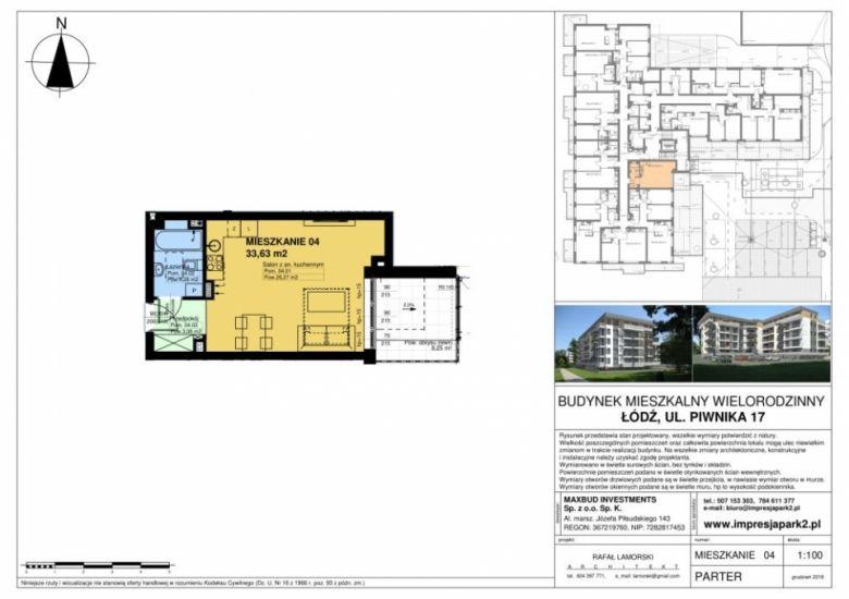 Mieszkanie nr. M04