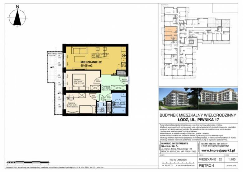 Mieszkanie nr. M52