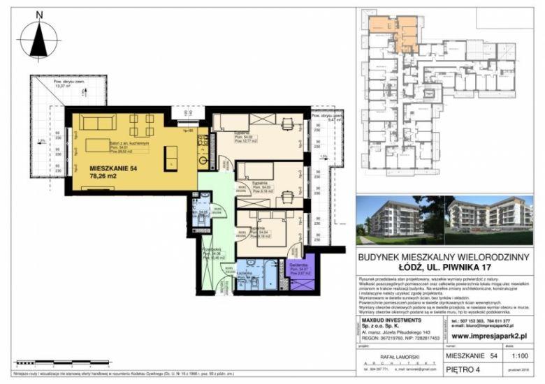 Mieszkanie nr. M54